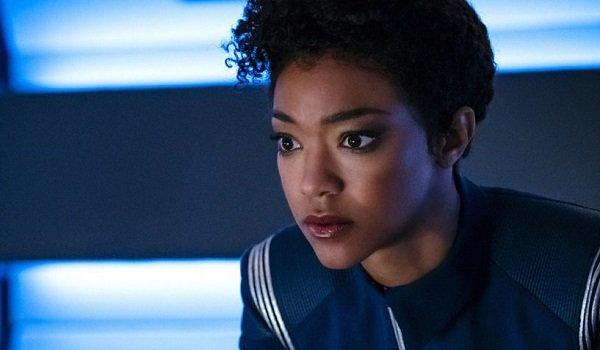Michael Burnham Sonequa Martin-Green Star Trek: Discovery CBS All Access