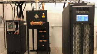 Comark Parallax UHF transmitter WQPT