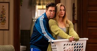 Eric Petersen and Annie Murphy in 'Kevin Can F**k Himself'