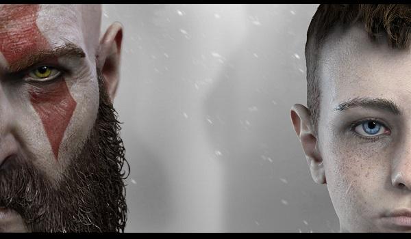 kratos stands alongside son in god of war