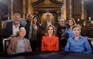 The judging panel