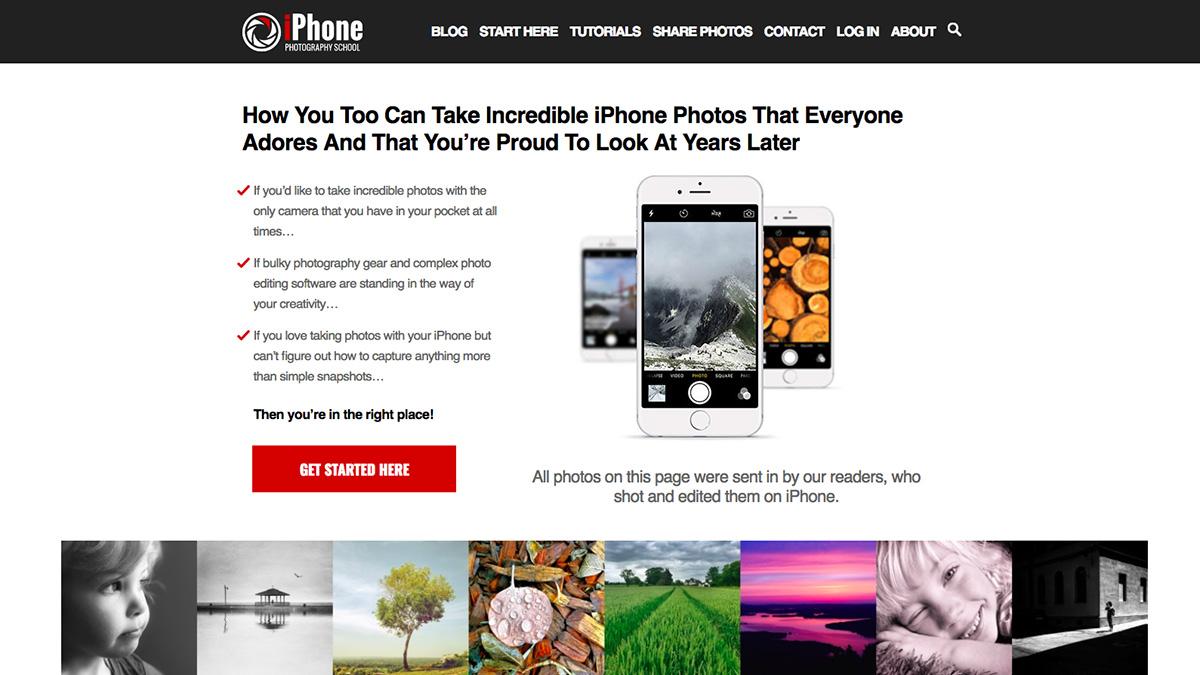 iPhone Photography School screenshot