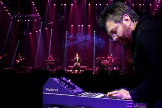 Gino Vannelli Performs with Roland V-Mixing System at Beverly Hills Saban Theatre