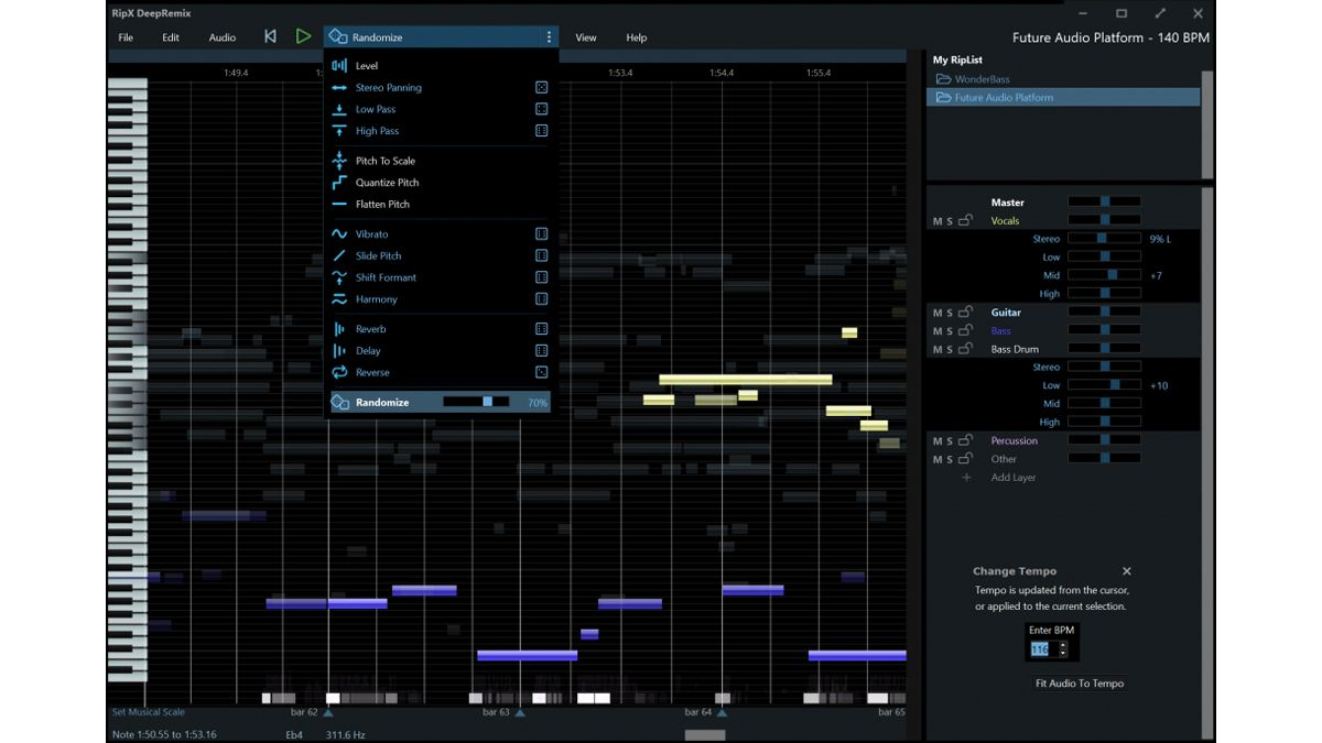 Hit'n'Mix offers more affordable automatic vocal isolation and audio separation with RipX: DeepRemix