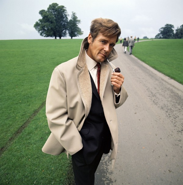 Sir Roger Moore in TV Times