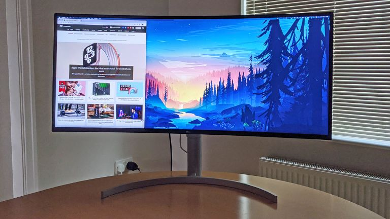 LG UltraWide 38WN95C monitor