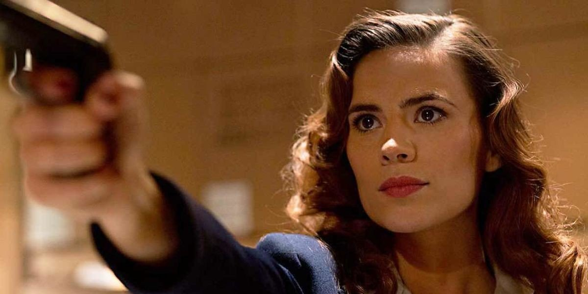Hayley Atwell as Agent Peggy Carter in Agent Carter (2013)