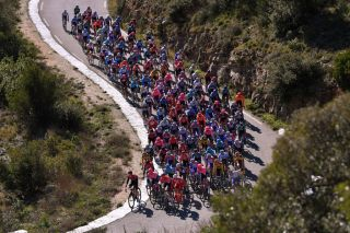 The peloton takes on stage 2 of the 2020 Tour de la Provence