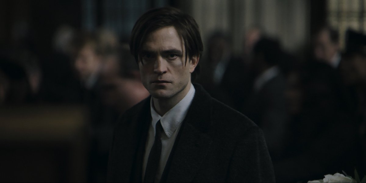 Robert Pattinson as Bruce Wayne in The Batman