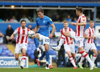 Birmingham City v Stoke City – Sky Bet Championship – St Andrew's Trillion Trophy Stadium