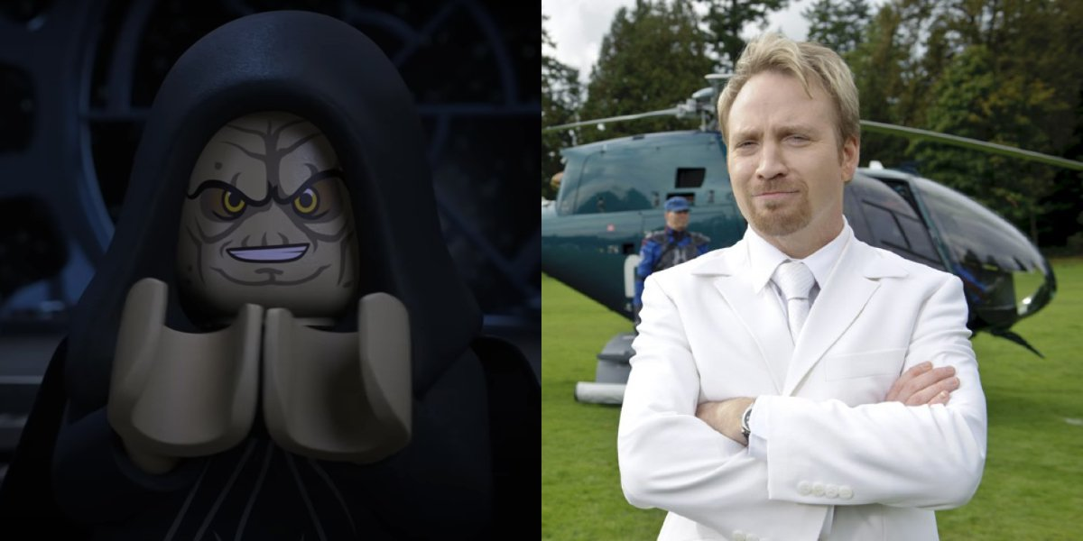 Emperor Palpatine in LEGO Star Wars Holiday Special; Trevor Devall in Big Time Movie