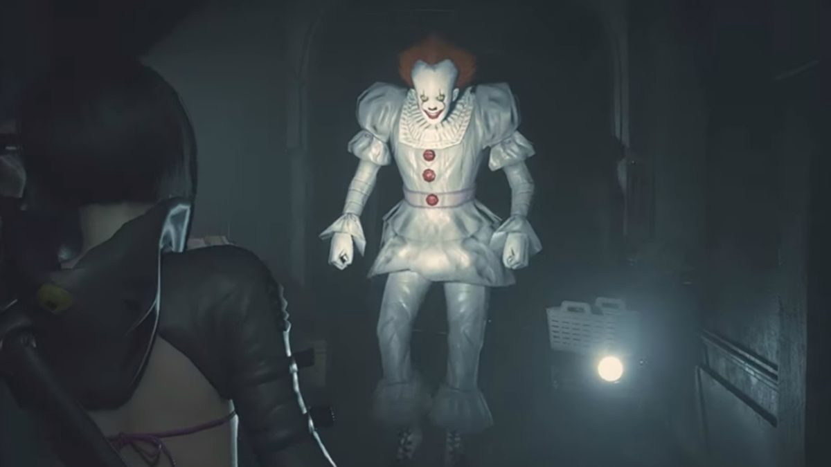 Resident Evil's Mr X just got even worse with this Pennywise mod