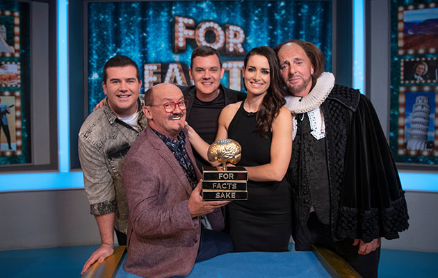 For Facts Sake: Picture Shows: L-R: Brendan, Paddy, Danny, Kirsty Gallagher & Pat Shields