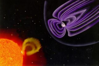 geomagnetic storm radiation magnetic fields
