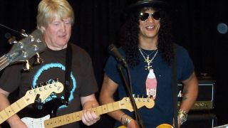 Brian Bennett and Slash