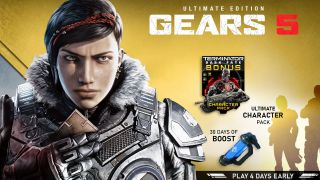 Gears 5 is out September 10, or earlier with the Ultimate Game Pass