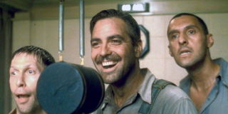 George Clooney in O Brother Where Art Thou