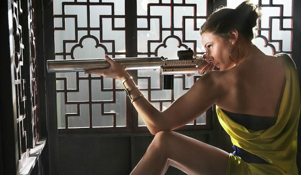 Mission: Impossible Rogue Nation Rebecca Ferguson Ilsa takes aim at the opera