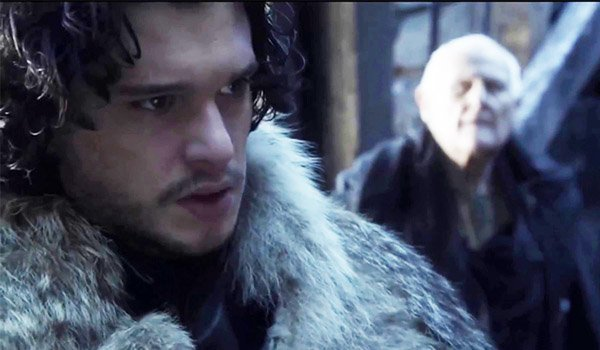 Jon Snow at Castle Black on Game Of Thrones on HBO