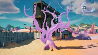 Fortnite Crystal Trees locations