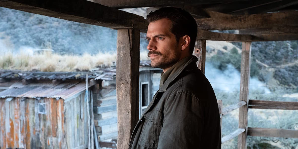Mustached Henry Cavill in Mission: Impossible - Fallout