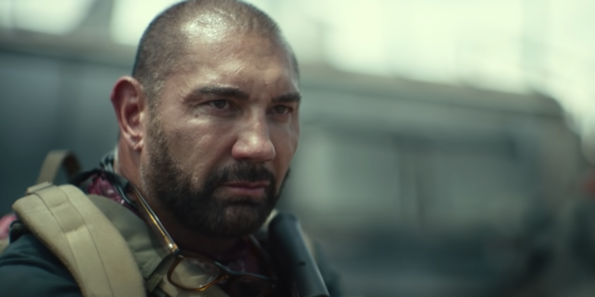 Dave Bautista as Scott Ward in Army of the Dead.