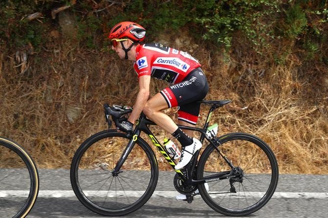Overall leader Simon Yates (Mitchelton-Scott)