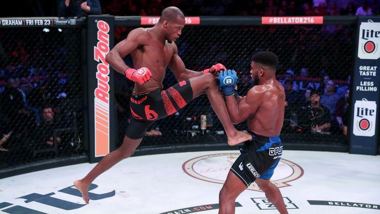 Michael Venom Page MMA fighter training