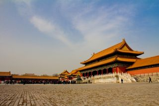 image of China's Forbidden City