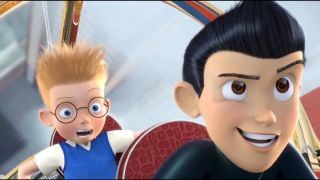 Two of the characters from _Meet the Robinsons._