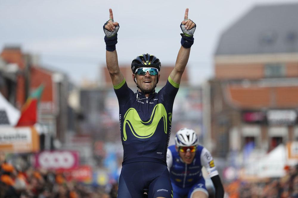 Thumbnail Credit (cyclingweekly.com) (Photo: Yuzuru Sunada): Alejandro Valverde wins Liege-Bastogne-Liege 2017 (Sunada) Credit: Yuzuru Sunada