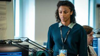 Line of Duty star Shalom Brune-Franklin as DC Chloe Bishop.