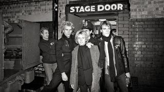 The Police: (l-r) Sting, Andy Summers & Stewart Copeland