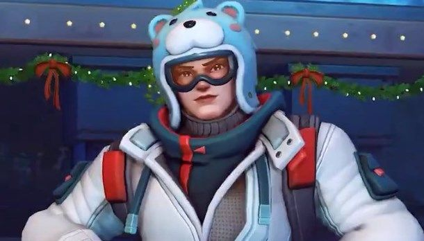 The first new Overwatch Winter Wonderland skin turns Zarya into a real Russian bear