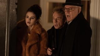 Selena Gomez, Martin Short and Steve Martin in Only Murders in the Building.