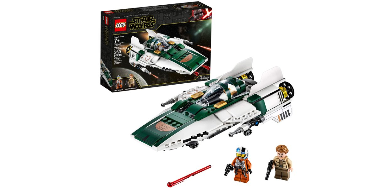 LEGO Star Wars: The Rise Of Skywalker Resistance A Wing Starfighter