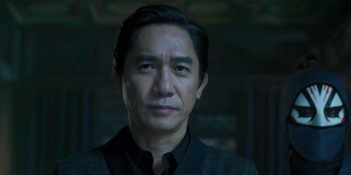 Tony Leung as The Mandarin in Shang-Chi and the Legend of the Ten Rings