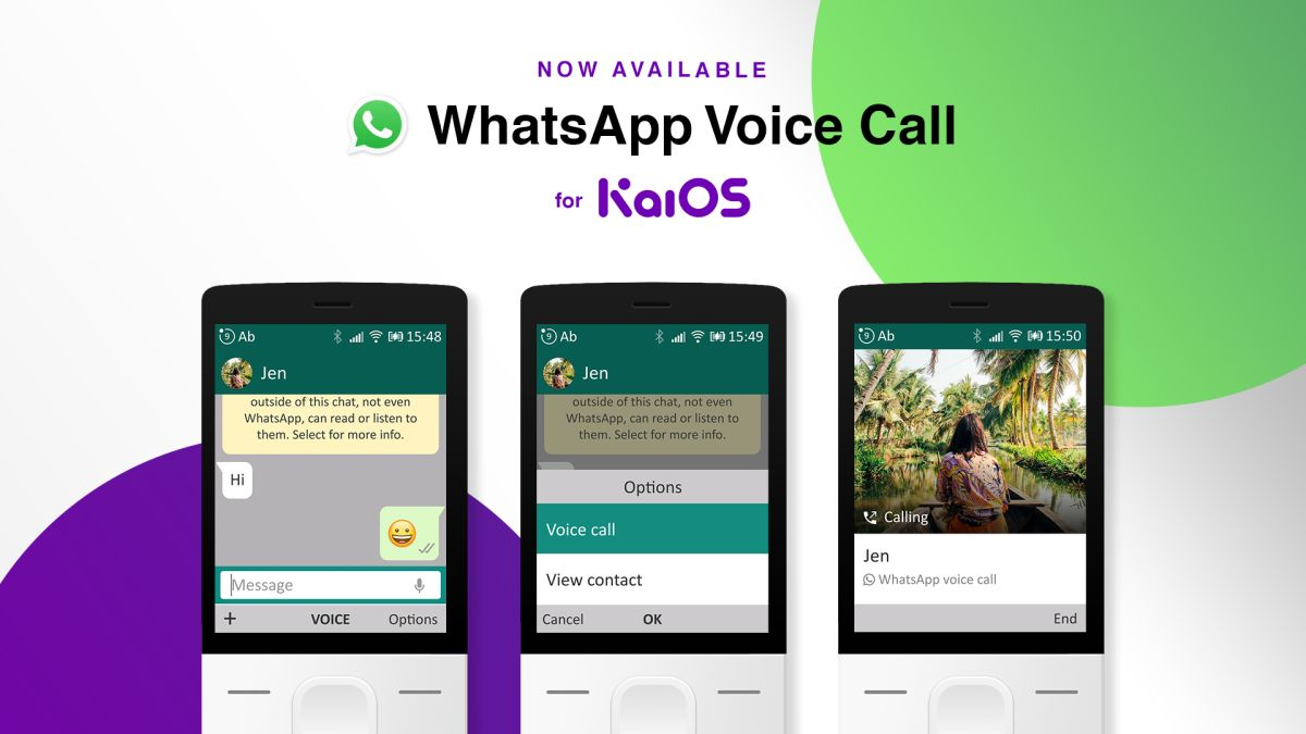 WhatsApp brings voice calls to Jio Phone and other KaiOS-based devices