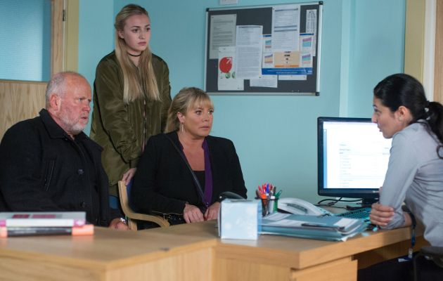 EastEnders Phil Mitchell Sharon Mitchell Louise Mitchell