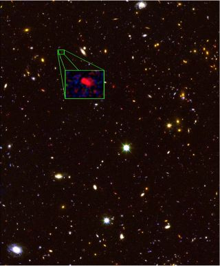 Farthest Galaxy Discovered