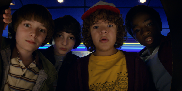 Stranger Things Will Noah Schnapp Mike Finn Wolfhard Dustin Gaten Matarazzo Lucas Caleb Mclaughlin N