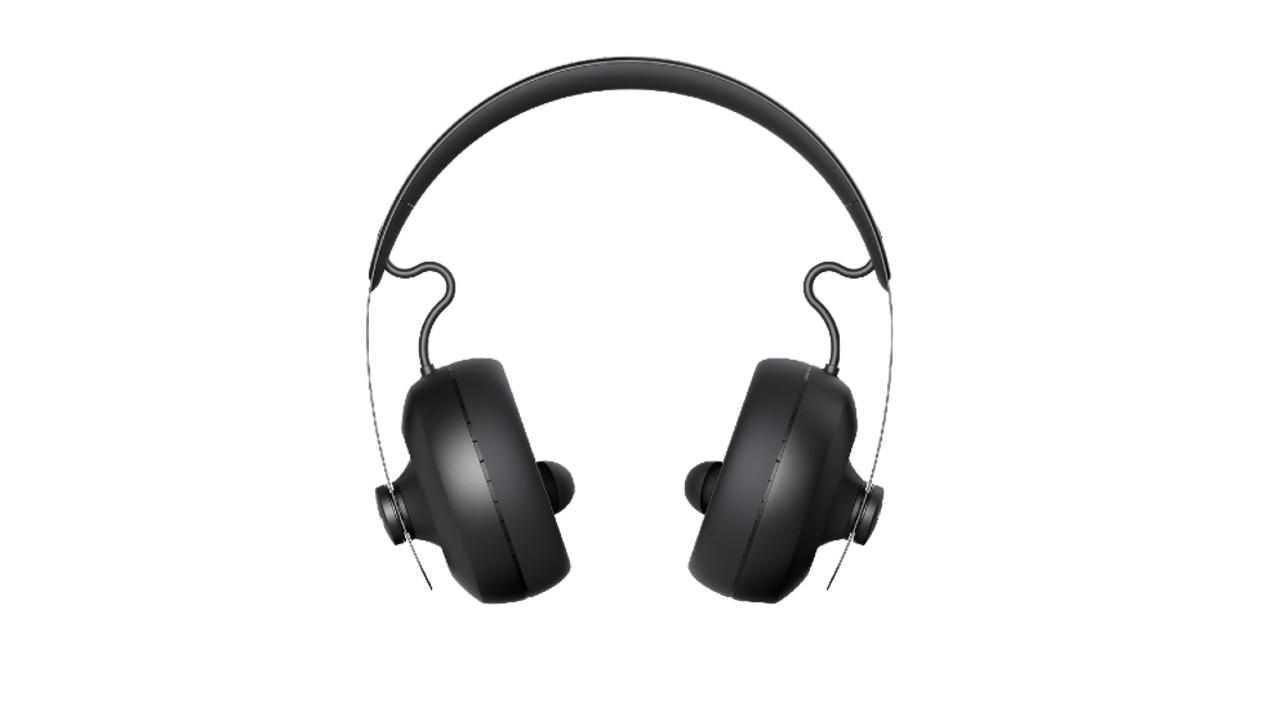 the Nura Nuraphone headphones in black