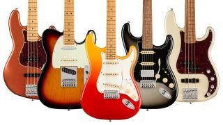 Fender Player Plus guitars