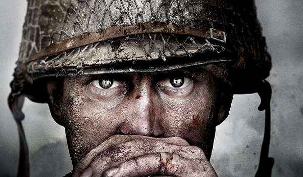 Soldier staring forward in Call of Duty: World War 2
