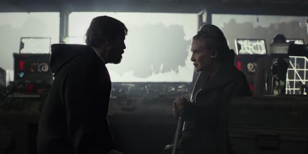 Luke and Leia on Crait
