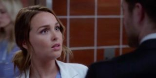 Paul confronting Jo in Grey's Anatomy