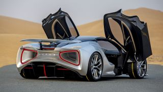The Lotus Type 135 electric sports car will have its batteries in an unusual place