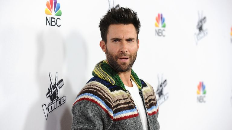 """Adam Levine attends NBC's """"The Voice"""" season 7 red carpet event at HYDE Sunset: Kitchen + Cocktails on December 8, 2014 in West Hollywood, California"""