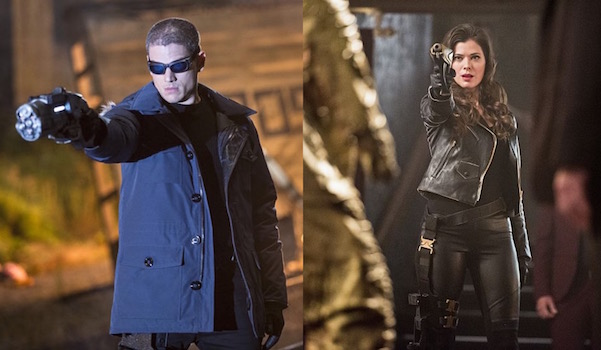 Leonard Snart and Lisa Snart The Flash The CW