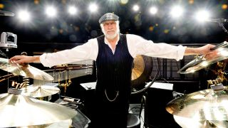 Holding it all together: Mick Fleetwood is the only ever-present member of Fleetwood Mac